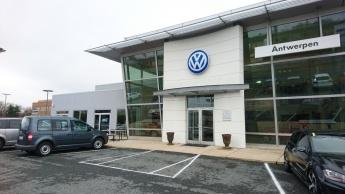 VW zur Reparatur bei VW. Ganz wie zuhause. Hach....