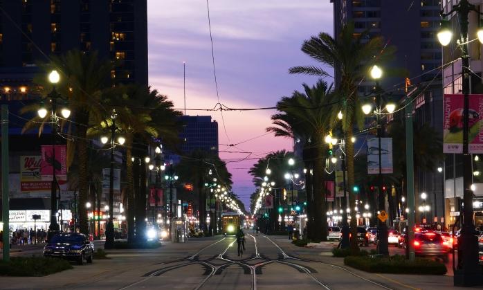 New Orleans Nacht