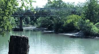 Brücke im Ozark National Forest