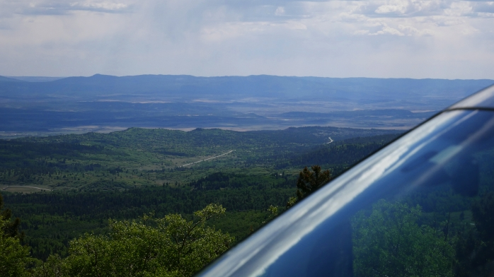 Ausblick Forest New Mexico