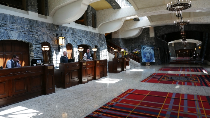 Banff Springs Hotel Lobby
