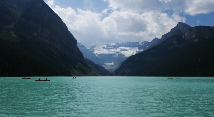 Lake Louise close