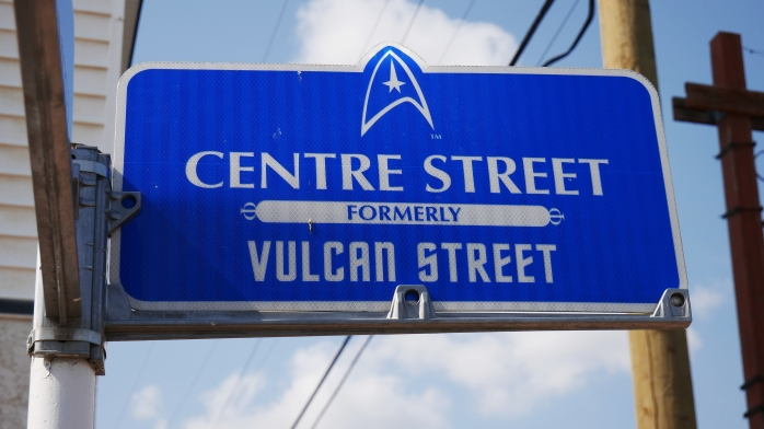 Vulcan Straßenschild