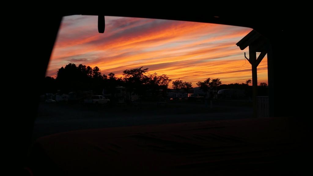 Bedroom Sunset