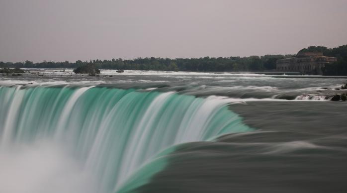 Niagara Falls close